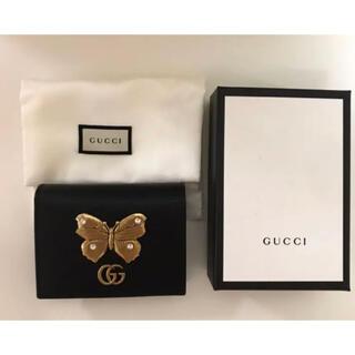 Gucci - GUCCI グッチ GGマーモント バタフライ ミニウォレット 新品 正規品
