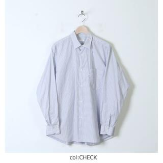 COMOLI - 【新品未使用タグ付】comoli/2021SSポプリンシャツ