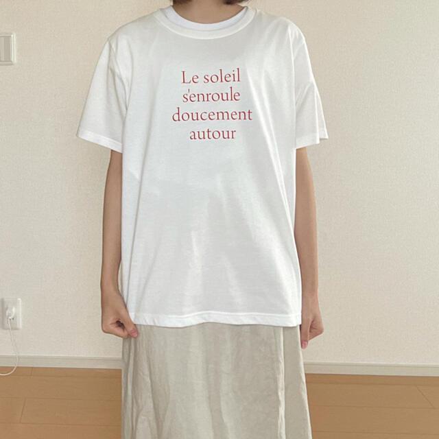 GLOBAL WORK(グローバルワーク)のロゴ入りTシャツ レディースのトップス(Tシャツ(半袖/袖なし))の商品写真