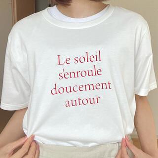 グローバルワーク(GLOBAL WORK)のロゴ入りTシャツ(Tシャツ(半袖/袖なし))