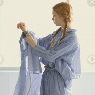 nest Robe - nest robe ハードマン コットンリネンカシュクールシャツ