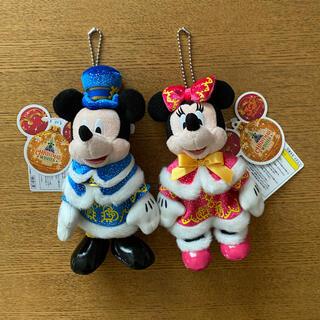 ミッキーマウス - ディズニー ぬいぐるみバッジ ペア 22