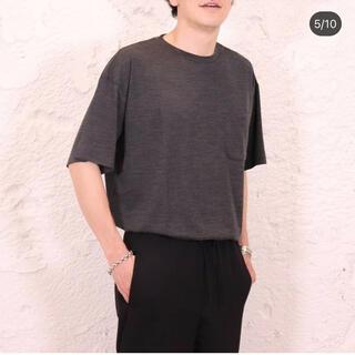 COMOLI - 1回着用 comoli wism別注 ウールテンジクハンソデクルー Tシャツ