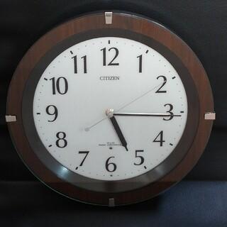シチズン(CITIZEN)の【掛時計:電波時計】 シチズン リズム時計 リバライドF 8MY460 丸形(掛時計/柱時計)