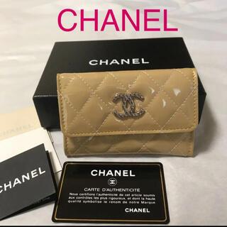 CHANEL - 美品 ☆ CHANEL ☆  ブリリアント エナメル コインケース/カードケース