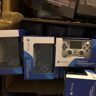 新品 PlayStation4 コントローラー ホワイト ブルー 各1個(その他)