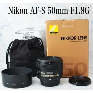 Nikon - 極上●人気単焦点●豪華な付属品●ニコン AF-S 50mm F1.8G