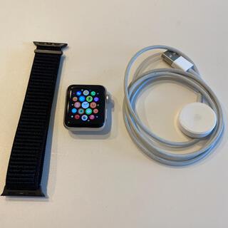 Apple - Apple Watch 3 セルラー 38mm バッテリー100% 極美品