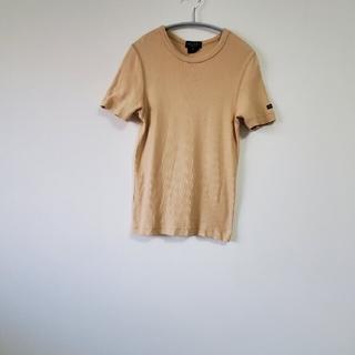 グッチ(Gucci)のGUCCI Tシャツ 半袖 ベージュ レディース(Tシャツ(半袖/袖なし))