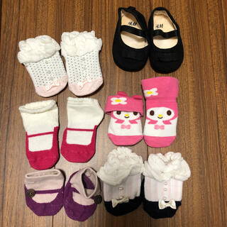 petit main - 女の子 ベビーソックス フォーマル靴 14 15 ケイトスペードプティマイン