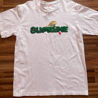 Supreme - supreme 白 Tシャツ メンズ L カメレオン