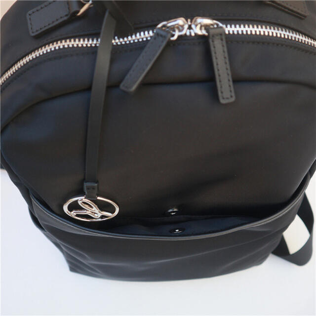 agnes b.(アニエスベー)のアニエスベーリュックバックパック黒新品ショルダーバッグトートバッグ レディースのバッグ(リュック/バックパック)の商品写真
