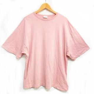 ドリスヴァンノッテン(DRIES VAN NOTEN)のドリスヴァンノッテン Tシャツ カットソー ビッグシルエット 半袖 S (Tシャツ/カットソー(半袖/袖なし))