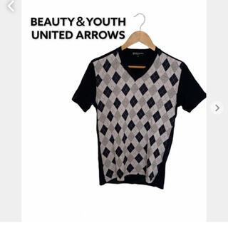 ビューティアンドユースユナイテッドアローズ(BEAUTY&YOUTH UNITED ARROWS)のビューティーアンドユース ユナイテッドアローズ レディースカットソー 柄(カットソー(半袖/袖なし))