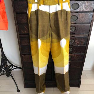 fumika_uchida  フミカウチダ vintage fabric パンツ