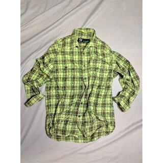 エフエーティー(FAT)の希少 FAT エフエーティー チェックシャツ 061702(シャツ)