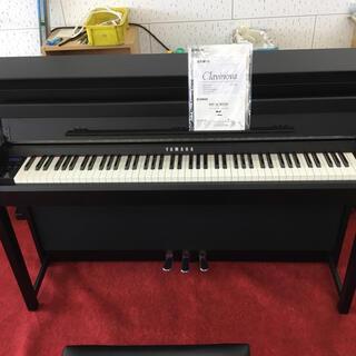 ヤマハ(ヤマハ)のヤマハ電子ピアノ2前最高機種CLP585Bクッションや鍵盤スイッチ全部新品に交換(電子ピアノ)