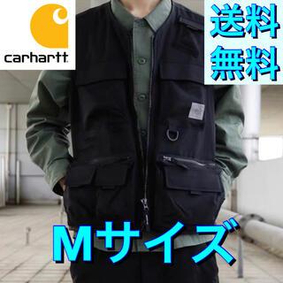 carhartt - 【新品未使用品★Mサイズ】カーハート★フィッシングベスト★ブラック