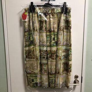 franche lippee - 新品 フランシュリッペ デパートメントストア柄スカート 3L