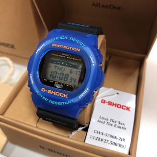 G-SHOCK - 限定品 カシオ イルクジ GWX-5700K-2JR 時計