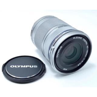 オリンパス(OLYMPUS)のオリンパス 望遠レンズ シルバー(レンズ(ズーム))