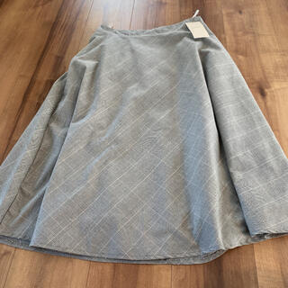 グローブ(grove)のグローブ 膝丈スカート  チェック 通勤 オフィス(ひざ丈スカート)