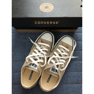 CONVERSE - 【新品】converse オールスター ベージュ 24.5cm us5.5