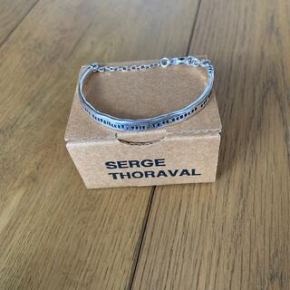 H.P.FRANCE - セルジュトラヴァル 幸せの手錠バングル シルバー ブレスレット