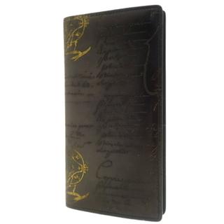 ベルルッティ(Berluti)のベルルッティ セコイヤ 二つ折り 長財布  ブラック黒 40800075532(長財布)