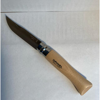 オピネル(OPINEL)の【新品未使用】OPINEL オピネル ステンレスナイフ NO.9(調理器具)