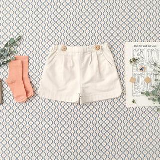 Caramel baby&child  - soor ploom Esther Shorts, Natural 6y