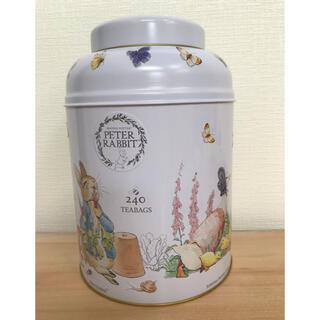 コストコ(コストコ)のコストコ ピーターラビット紅茶缶 空き缶(容器)