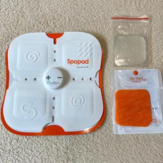 【替えジェル6枚付】家庭用 EMS 腹筋ベルトspopad power4(トレーニング用品)