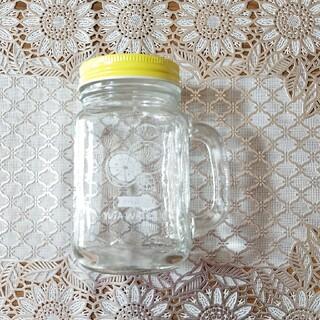 スキンフード(SKIN FOOD)の【新品・未使用】SKIN FOOD ノベルティー ドリンク ガラスビン(グラス/カップ)