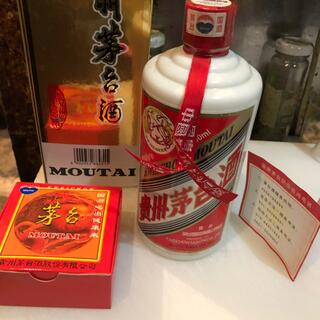 貴州茅台酒未開封古酒 38%グラス付き(蒸留酒/スピリッツ)
