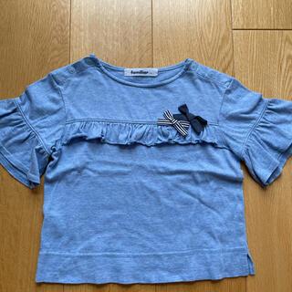 familiar - ファミリア Tシャツ リボン 110