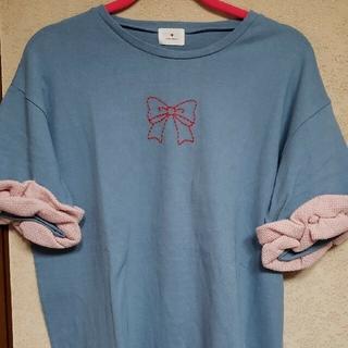 メリージェニー(merry jenny)のメリージェニー Tシャツとサテンパンツ(カジュアルパンツ)