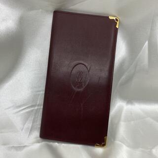 カルティエ(Cartier)の★特価★ カルティエ 長財布 カード入れ ボルドー 10100(財布)