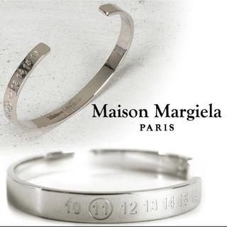 マルタンマルジェラ(Maison Martin Margiela)の希少 maison margiela ナンバー バングル Mサイズ(バングル/リストバンド)