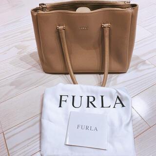 Furla - FURLA フルラ ロータス M ベージュ