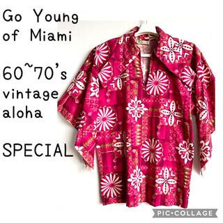 サンサーフ(Sun Surf)の60s 70s VINTAGE Go Young of Miami アロハシャツ(シャツ)