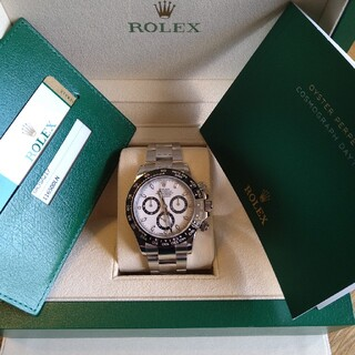 ROLEX - デイトナ 116500LN 中古白文字盤 ROLEX