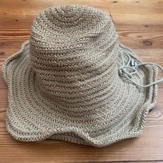 H.P.FRANCE - アッシュペーフランス購入ジャックルコー麦わら帽子 ストローハット キャップ