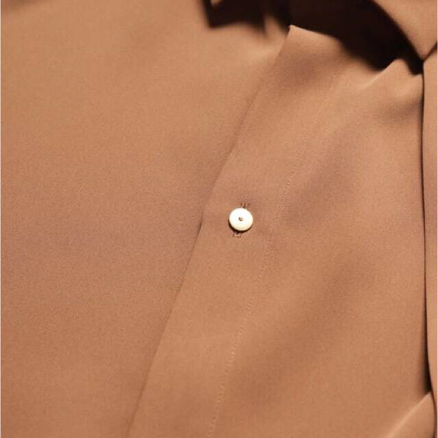 COMOLI(コモリ)の【名作】 CULLNI 19AW ダブルクロスシャツ モカ メンズのトップス(シャツ)の商品写真