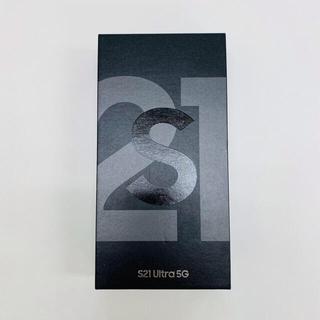 SAMSUNG - Samsung Galaxy S21 ultra 5G 未開封