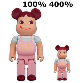 BE@RBRICK ファミリータウンペコちゃん 100% & 400% MEDI(ぬいぐるみ/人形)