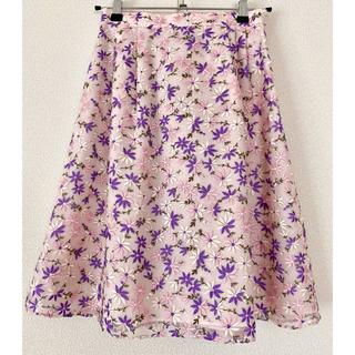 TOCCA - TOCCA フラワー刺繍スカート