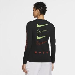 NIKE - NIKE ウィメンズ NSW ワールドワイド L/S Tシャツ ロンT