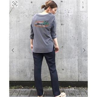 DEUXIEME CLASSE - Deuxieme Classe ラグランバックプリントTシャツ