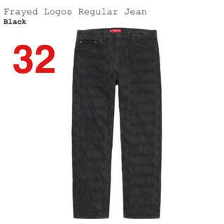 シュプリーム(Supreme)のSupreme Frayed Logos Regular Jean 32 希少(デニム/ジーンズ)